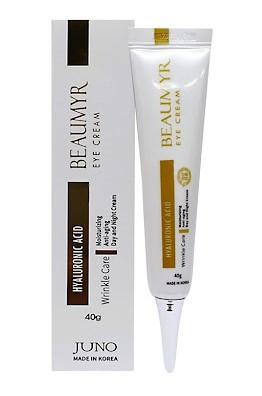 JUNO Beaumyr Антивозрастной крем для глаз с гиалуроновой кислотой Eye Cream Hyaluronic Acid 40мл.