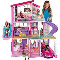 Дом мечты Barbie 3 этажный с лифтом и мебелью GNH53
