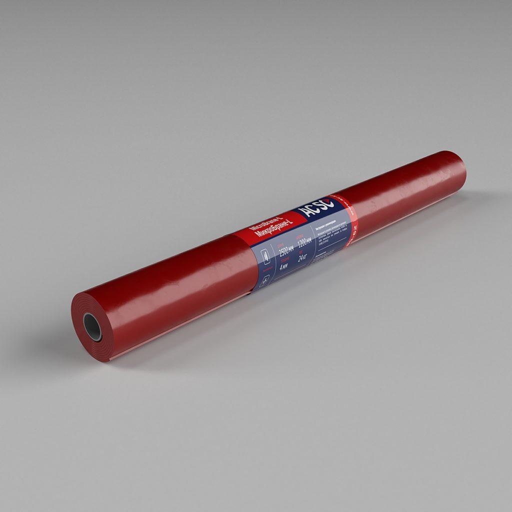 MicroBrane-L МикроБране-L звукоизоляционная смк мембрана