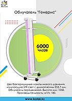 Облучатель бактерицидный передвижной на колесиках ОБНП 2*30 с лампами