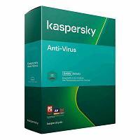 Антивирус  Kaspersky  Anti-Virus 2021  2ПК 1 год