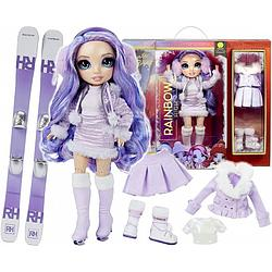 Кукла Rainbow High ЗИМНИЕ КАНИКУЛЫ WINTER Lalka Violet Willow