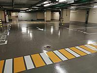 Устройство полимерных наливных полов для паркингов и других помещений