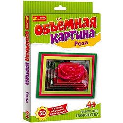 Ranok 6552 Объёмная картина Роза