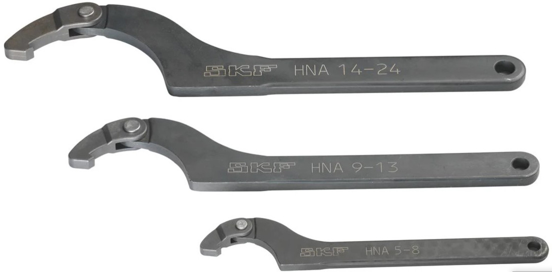 Универсальные накидные ключи SKF серии HNA