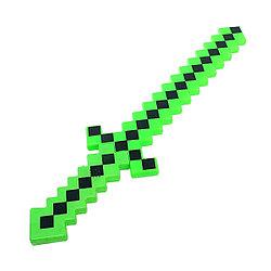 Меч Майнкрафт (Minecraft) музыкальный (цвета в ассортименте) 58 см