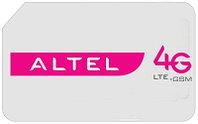 Sim карта Altel 4G Turbo 200Gb