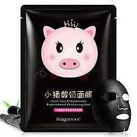 Тканевая маска для лица Images Piggy yogurt refreshing
