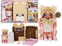 Игровой набор с куклой Na Na Na Surprise 3 в 1 Рюкзачок-Спальня Сары Снаглз