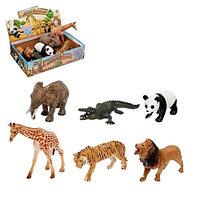 Резиновые животные мини / дикие, домашние, лесные и др.