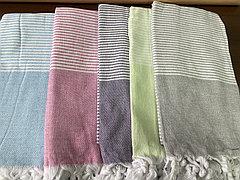 Простынь-Полотенце для сауны Пештемаль 90*160 Турция (полоска)