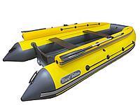 Лодка REEF-390 F НД ТРИТОН желтый/графит стеклопластиковый интерцептер