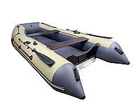 Лодка REEF-360 НД бежевый/графит