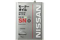 NISSAN STRONG SAVE-X SN 0W20 4Л KLAN000204