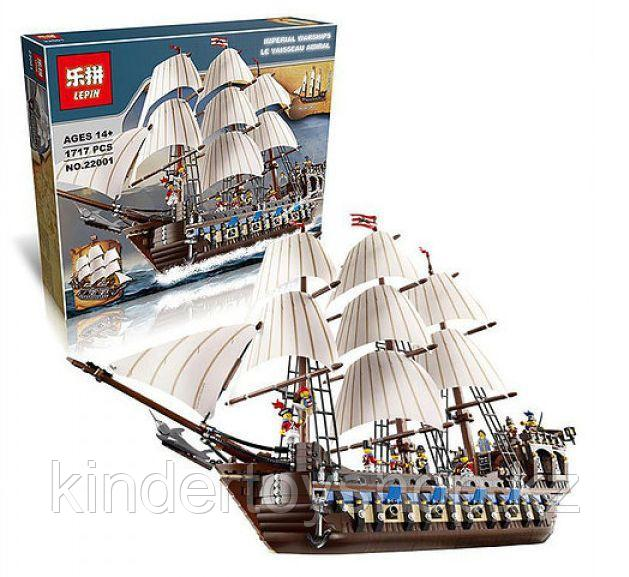 Конструктор аналог лего lego 10210 пираты карибского моря Корабль Имперский флагман 22001/19003 Imperial Flags