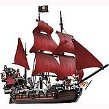 Конструктор  аналог лего Lego Pirates 4195 Пираты Карибского моря 6001 Месть Королевы Анны 1207 дет, фото 4