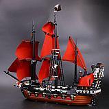 Конструктор  аналог лего Lego Pirates 4195 Пираты Карибского моря 6001 Месть Королевы Анны 1207 дет, фото 5