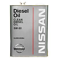 Масло моторное nissan 5w30 4l NISSAN KLB30-05304