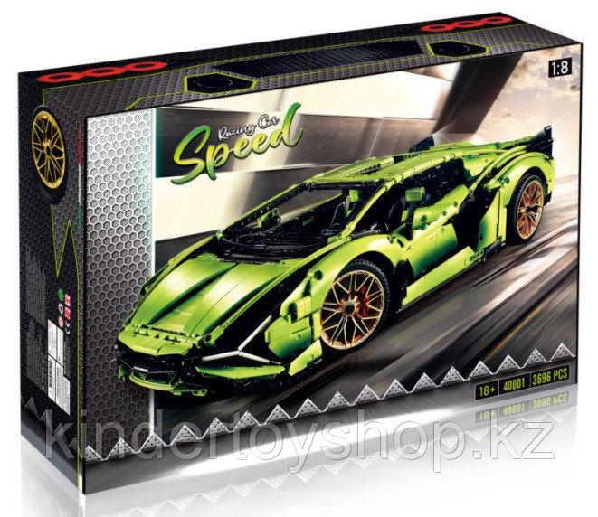 Конструктор Lamborghini Sian FKP 37 – аналог лего Lego 42115, King 81996