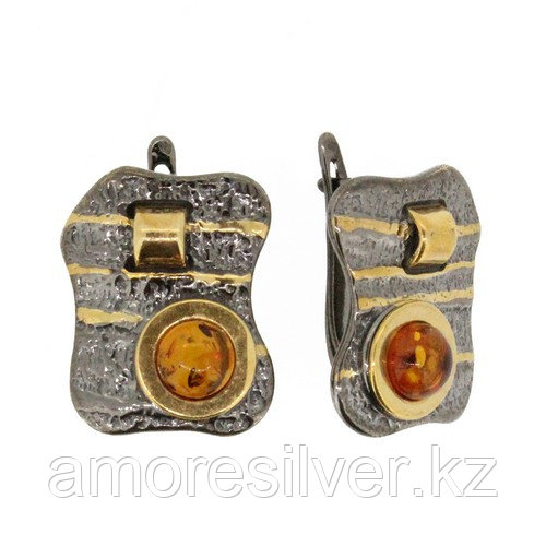Серьги Балтийское золото , янтарь, необычное 72131030