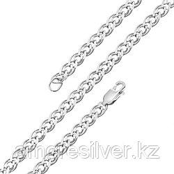 Браслет Красцветмет серебро с родием, без вставок, нонна НБ 22-200-3-100 размеры - 21