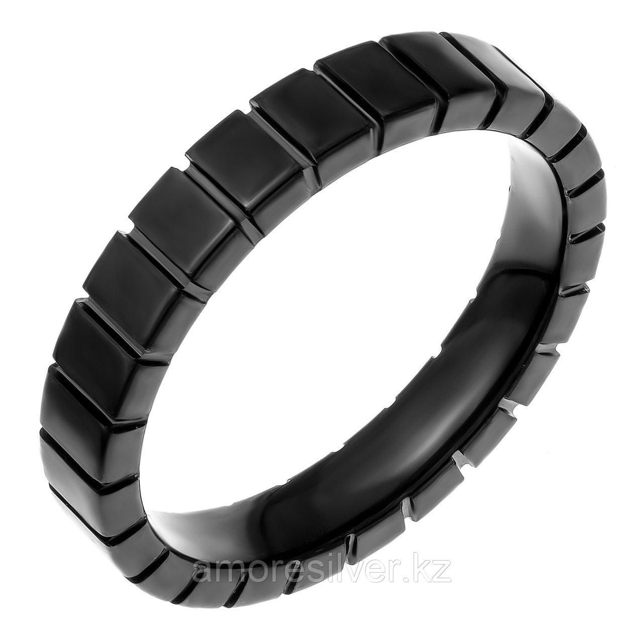 Кольцо Teosa серебро без покрытия, вольфрам,  TC-075-B размеры - 20