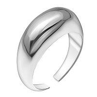 Кольцо TEOSA серебро с родием, без вставок, , геометрия 0101498-00245 размеры - 17,5
