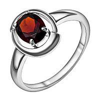 """Кольцо TEOSA серебро с родием, фианит синт., """"каратник"""" 1000-0196-GR размеры - 17,5"""