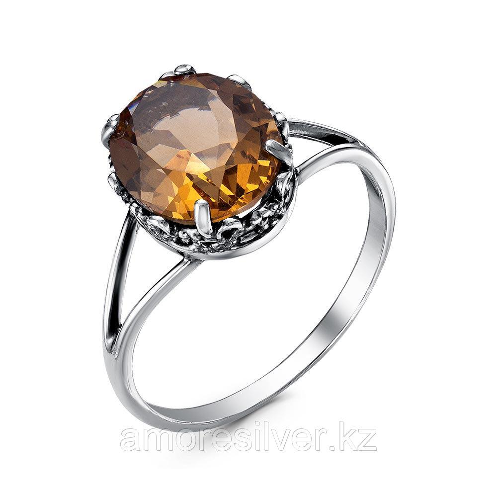 Кольцо Красная пресня серебро с позолотой, султанит иск. 23812370-22 размеры - 17,5 18 18,5