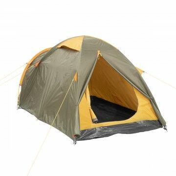 Палатка MUSSON-3 Helios зеленый-оранжевый HS-2366-3 GO - фото 2