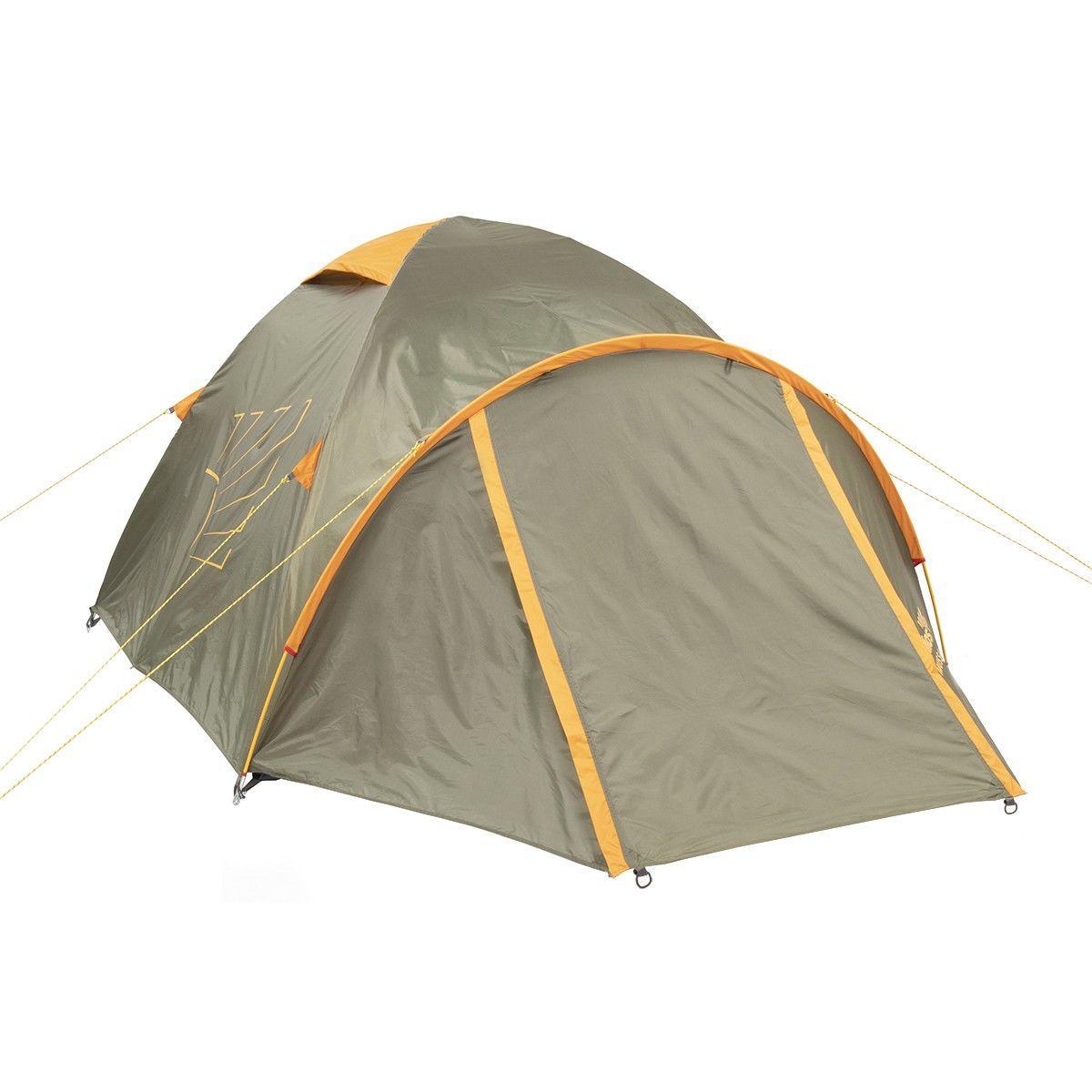 Палатка MUSSON-3 Helios зеленый-оранжевый HS-2366-3 GO - фото 3