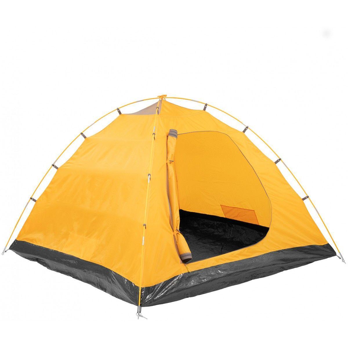 Палатка MUSSON-3 Helios зеленый-оранжевый HS-2366-3 GO - фото 7