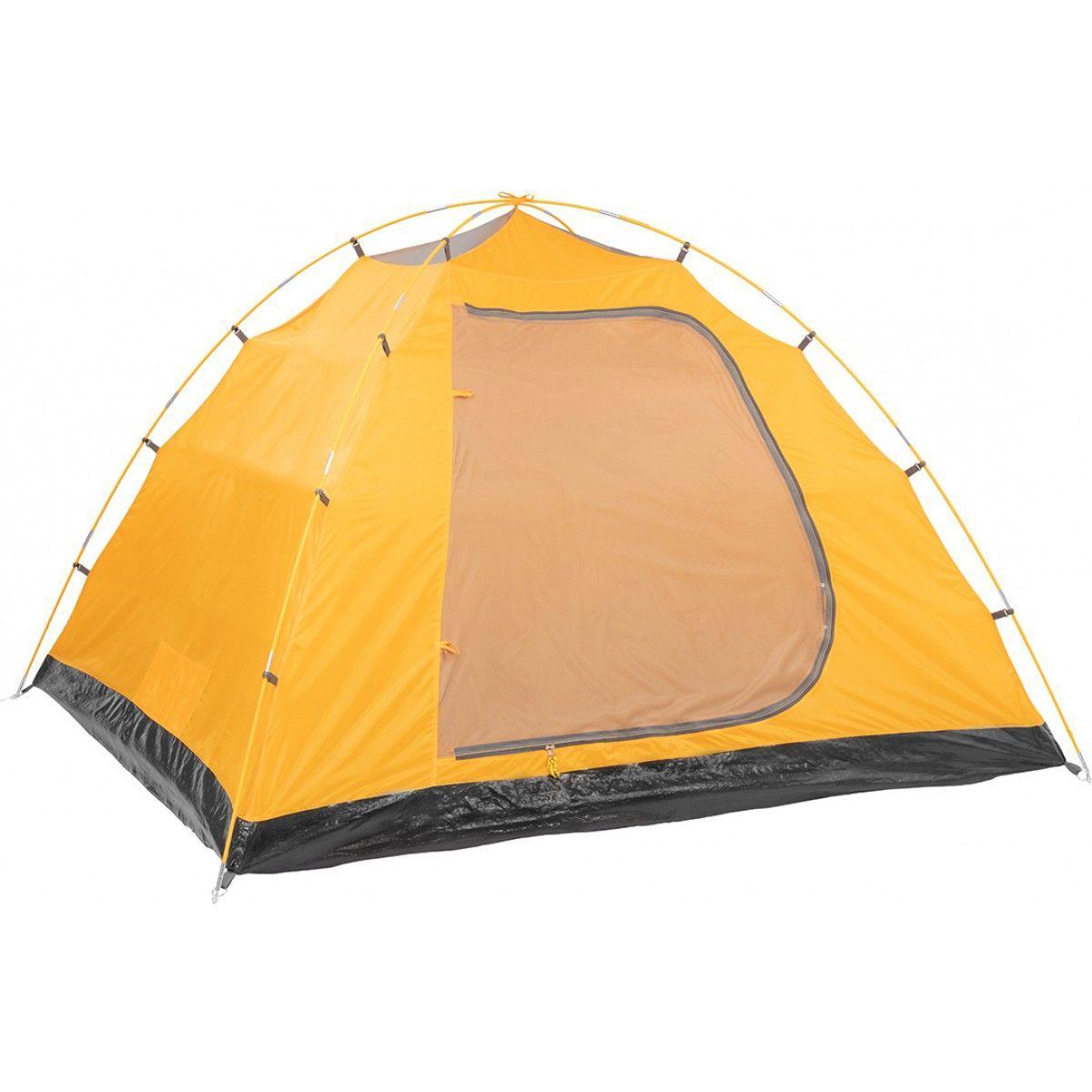 Палатка MUSSON-4 Helios зеленый-оранжевый HS-2366-4 GO - фото 5