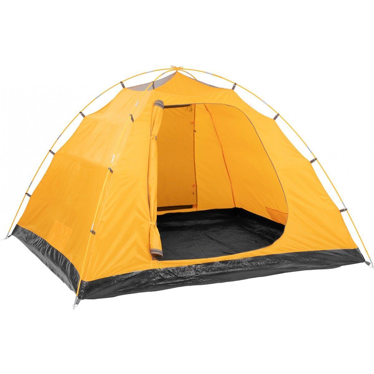 Палатка MUSSON-4 Helios зеленый-оранжевый HS-2366-4 GO - фото 6