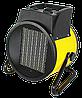 Тепловая электрическая пушка ТЭПК-EU-5000K (керам.нагревательный элемент,круглая) Eurolux