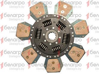 633308709 Комплект сцепления МТЗ лепестковая корзина + металлокерамический диск SPILE
