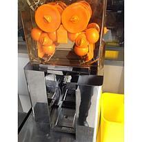Соковыжималка для цитрусовых Foodatlas 2020А-(II) (напольная, корпус прозр пласт, конт пластик, GB)