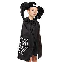 Детский карнавальный костюм 'Паучок', шапка, плащ, рост 122-134 см