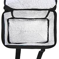 Термосумка Cartage Т-14, черная, 10 литров, 26х19х19 см