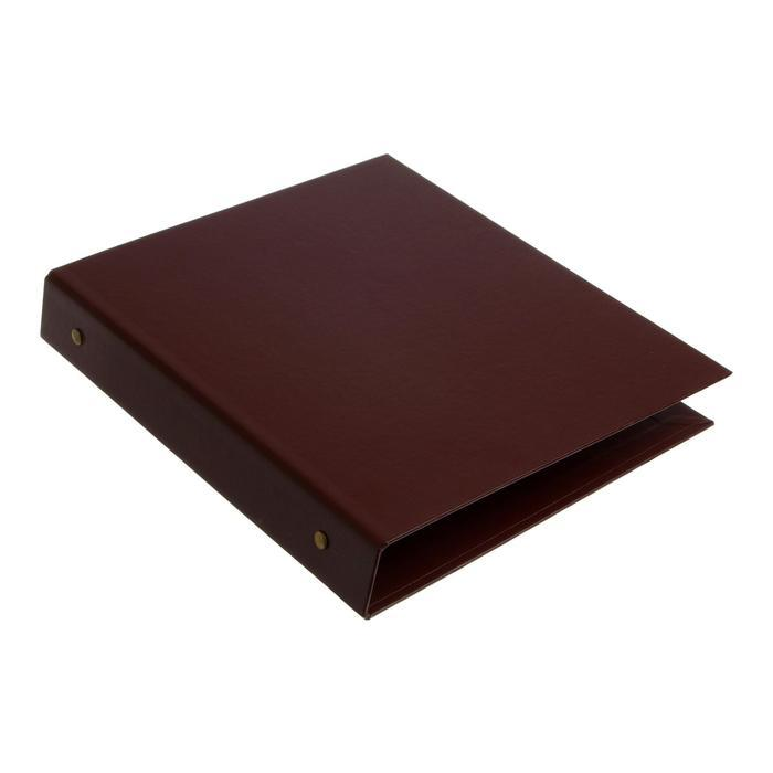 Альбом для монет 'Стандарт', 230х270 мм, без листов, коричневый - фото 2