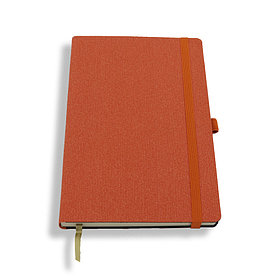 Блокнот Cayenne, оранжевый