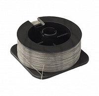ПЛОМБИРОВОЧНАЯ ПРОВОЛОКА для опламбирования витая 1,0 мм, Спираль (з) (400м, сталь/сталь)