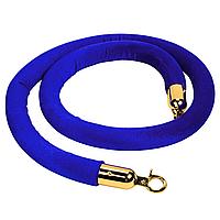Лента 1,5 м для стойки-ограждения цвет синий