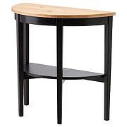 ARKELSTORP АРКЕЛЬСТОРП Приоконный стол, черный, 80x40x75 см
