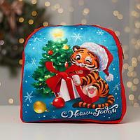 Рюкзак детский 'С Новым годом' Тигрёнок, 28 х 25 см