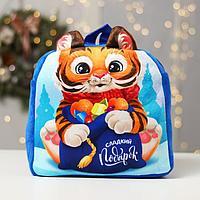 Рюкзак детский 'Сладкий подарок' Тигрёнок, 28 х 26 см