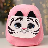 Рюкзак детский 'Белый тигр', с карманом, 25 х 24 см