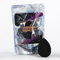 Cпонж в голографическом пакете 'Космической девушке', 16 х 4 х 10 см