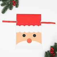 Мешок подарочный 'Дед мороз', 22x31 см (комплект из 25 шт.)