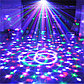Праздничный лазерный проектор MP3 LED Magic Hall Light, фото 4